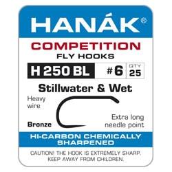 Hanak Barbless H250 Bl Hooks
