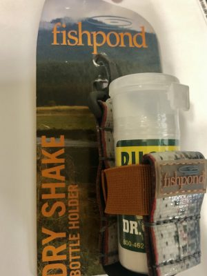 Fishpond dry shake in packaging