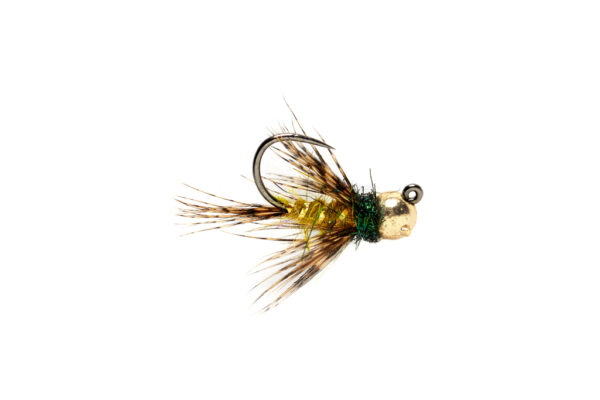 Fulling Mill Roza's hackled Jig Barbless Fly