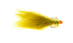 Fulling Mill Hot Taddy Olive & Red Fly