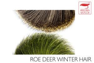 Polish Quills Roe Deer Winter Hair