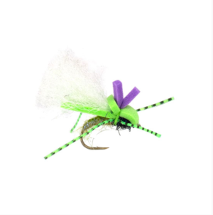Category 3 Chernobyl UV Olive #10 fly