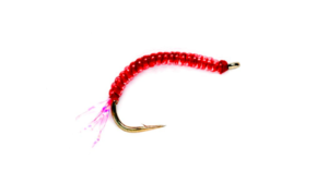 Fulling Mill Atomic Worm #10 Fly