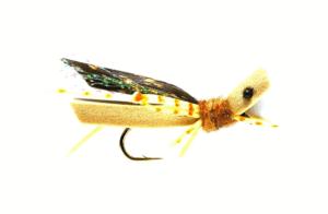 Fulling Mill Grasshopper Tan Foam #10 Fly