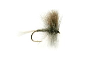 Fulling Mill Grey CDC Wulff #12 Fly