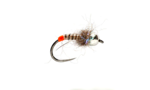 Fulling Mill Hot Butt Nymph Barbless fly