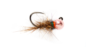 Fulling Mill Rozas Pink Hares Ear Jig Fly