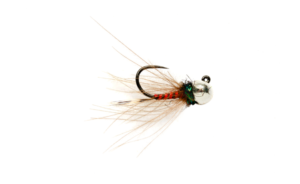 Fulling Mill Rozas Red Devil Jig Barbless Fly