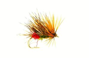 Fulling Mill Sedgehog Red Arsed Peter #12 Fly