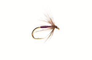 Fulling Mill Snipe and Purple #14 Fly