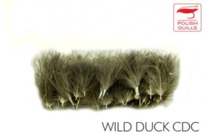 Polish Quills Wild Duck CDC 100 Selected Feathers