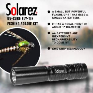 Solarez Roadie UV Flashlight