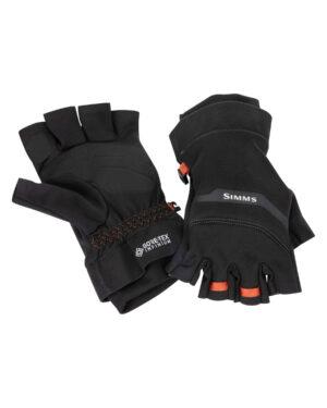 Simms Gore Infinium Half finger glove black