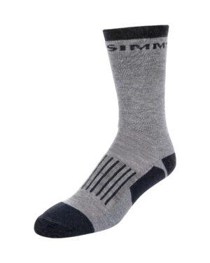 Simms merino midnight hiker sock steel grey socks
