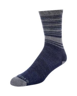 Simms Merino Lightweight Hiker sock admiral blue