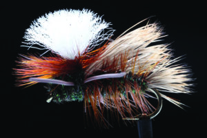 manic Swishers PMX peacock fly