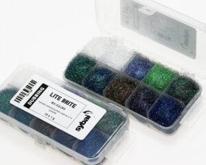 sybai Lite brite dubbing box mix colours
