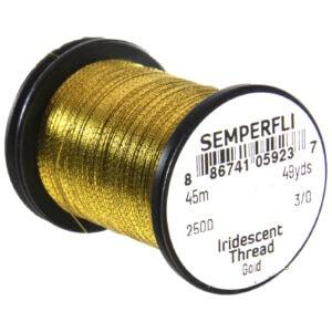 Semperfli Iridescent Thread gold