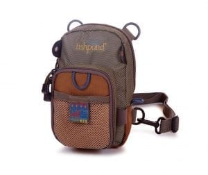 Fishpond San Juan Vertical Chest Pack Saddle Brown